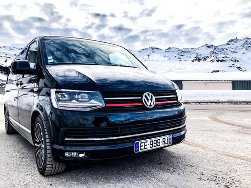 Van avec chauffeur privé 7 places à Val Thorens