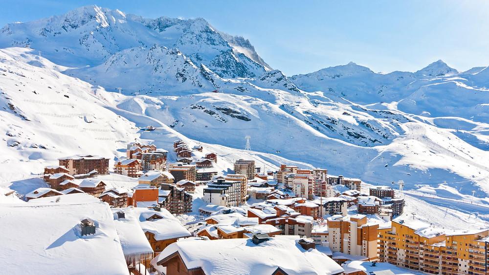 Station de ski de val thorens avec MyPrivate Transfer
