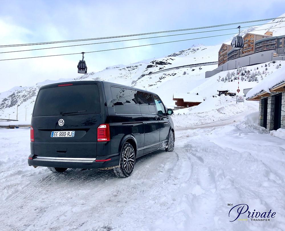 Taxi privé à Val Thorens à partir de 15€