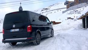 Réservez un chauffeur privé VTC en van depuis la station de Val Thorens
