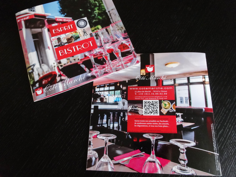 Carte Menu restaurant