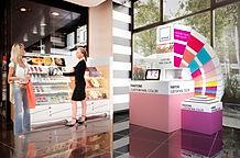 visual merchandising, cosmétique, luxe