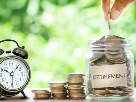 The last five years… to retirement.