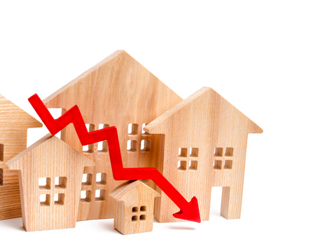 Buying a property in a falling market: The pitfalls and opportunities