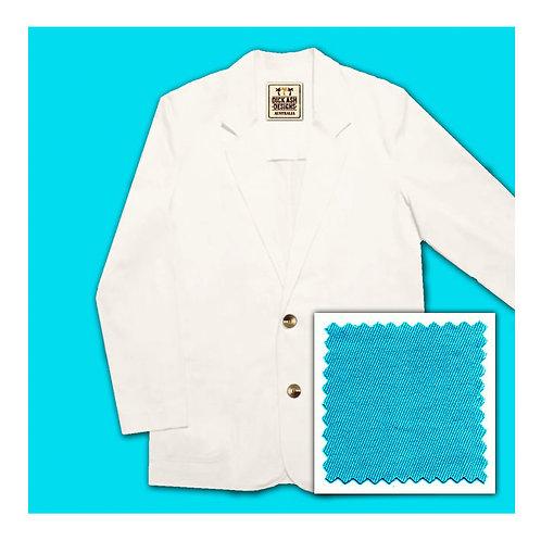 Cotton Jacket - Aqua