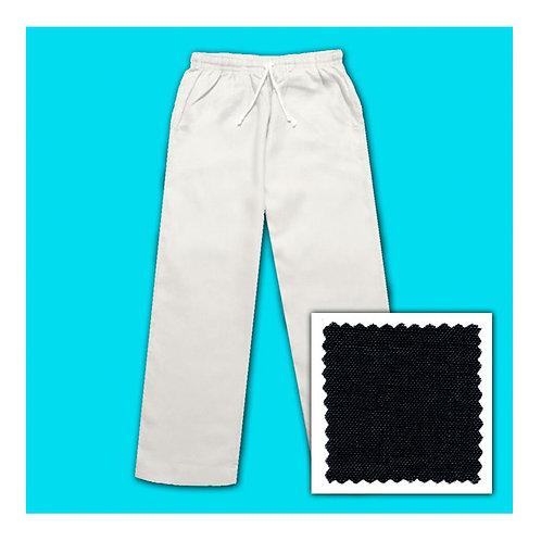 Linen Pants - Black