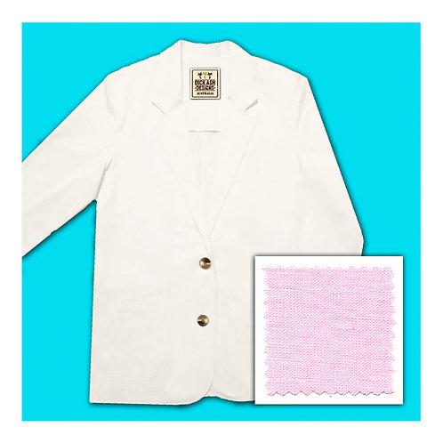 Womens Linen Jacket - Candy