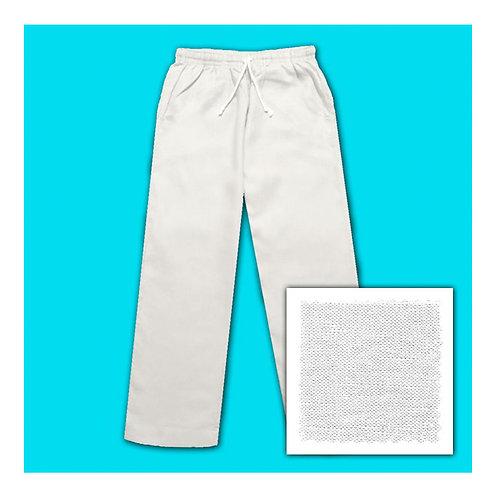 Linen Pants - White