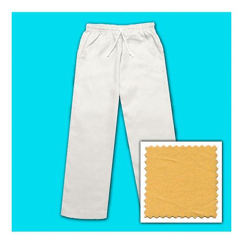 Women's Cotton Pants - Gold