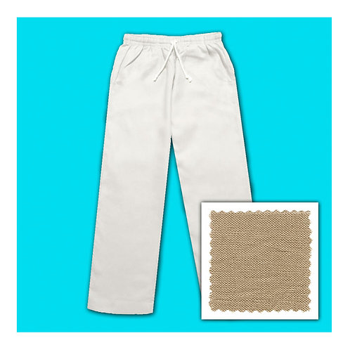 Women's Linen Pants - Caramel
