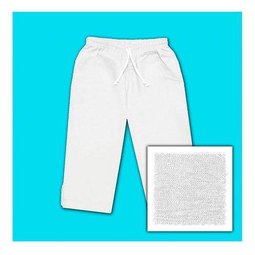 Linen Capris - White