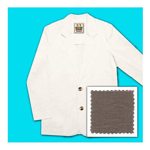 Linen Jacket - Mocca