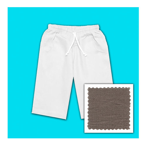 Linen Shorts - Mocca