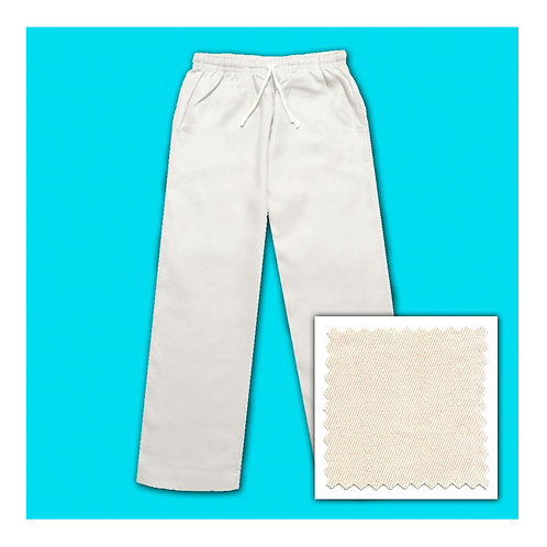 Cotton Pants - Natural