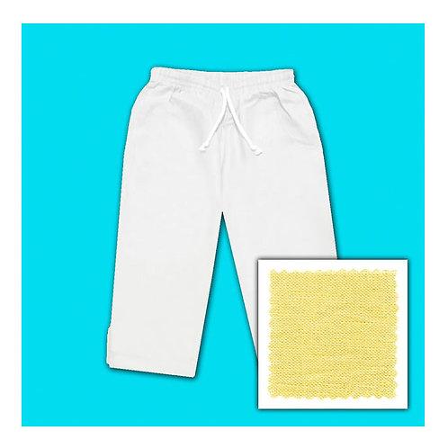 Linen Capris - Butter