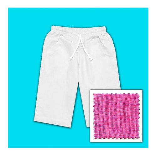Linen Shorts - Fuchsia