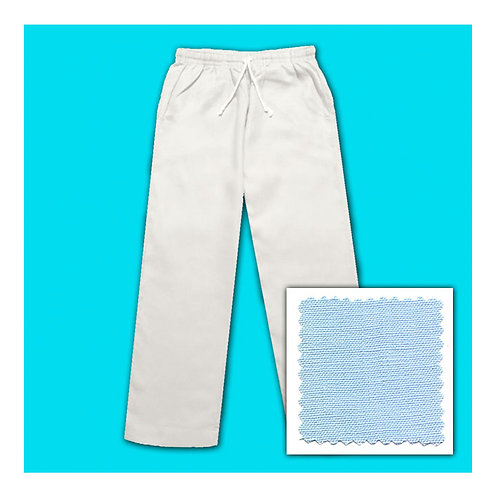 Women's Linen Pants - Blue Ice