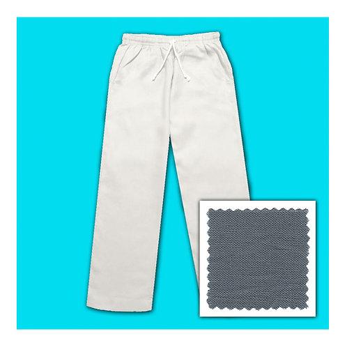 Women's Linen Pants - Grey
