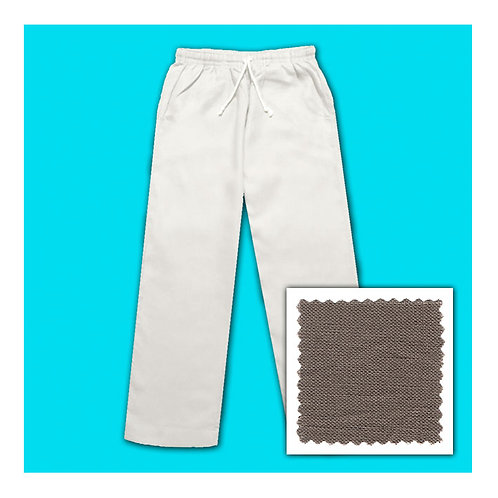 Women's Linen Pants - Mocca
