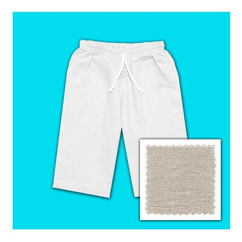 Womens Linen Shorts - Natural