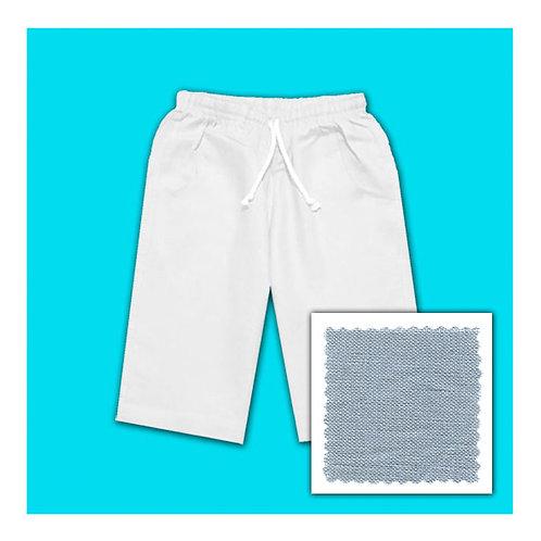 Linen Shorts - Grey
