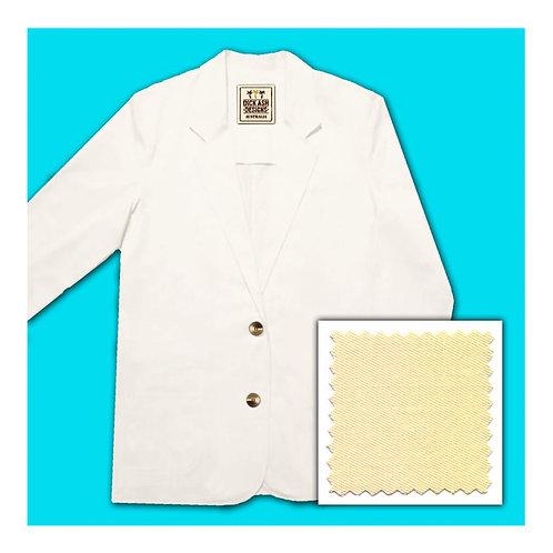 Womens Cotton Jacket - Lemon
