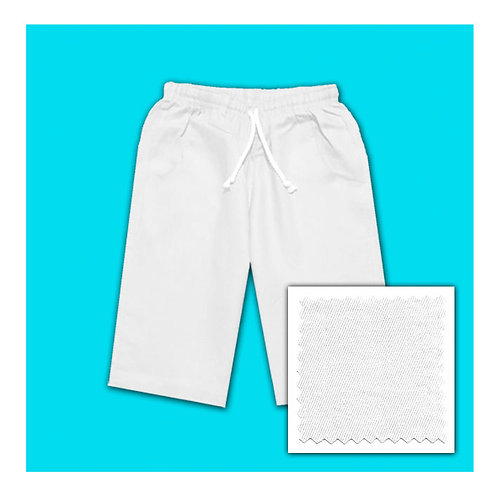 Womens Linen Shorts - White
