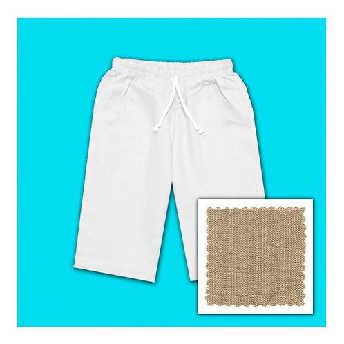 Linen Shorts - Caramel