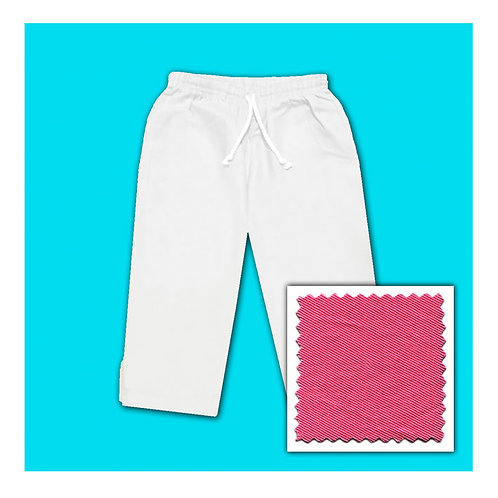 Womens Cotton Capris - Hot Pink