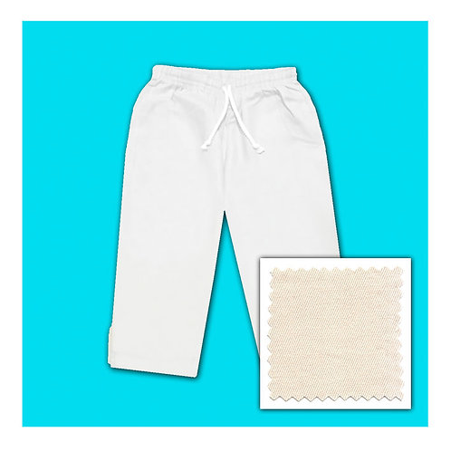 Cotton Capris - Natural