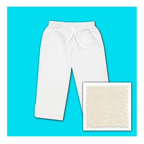 Womens Cotton Capris - Natural