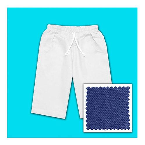 Cotton Shorts - Light Navy