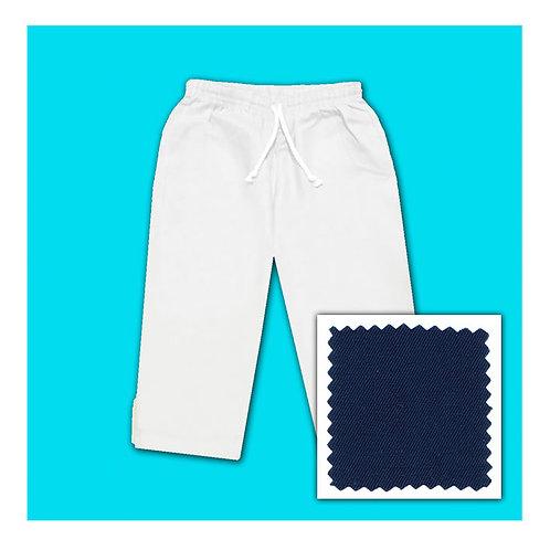 Cotton Capris - Navy