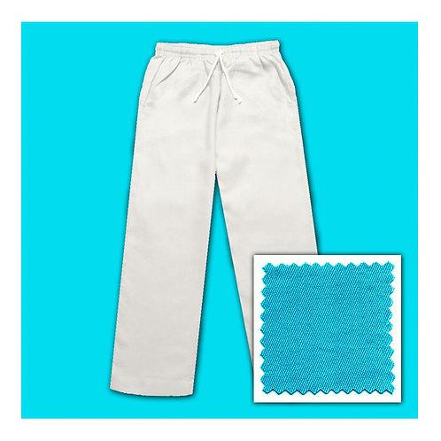 Cotton Pants - Aqua