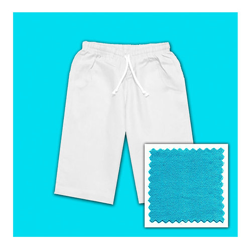 Cotton Shorts - Aqua