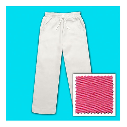 Women's Cotton Pants - Hot Pink