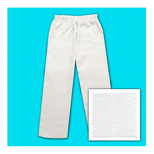 Cotton Pants - White