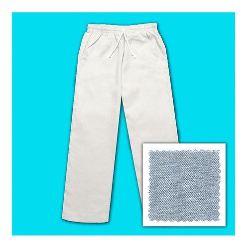 Linen Pants - Grey