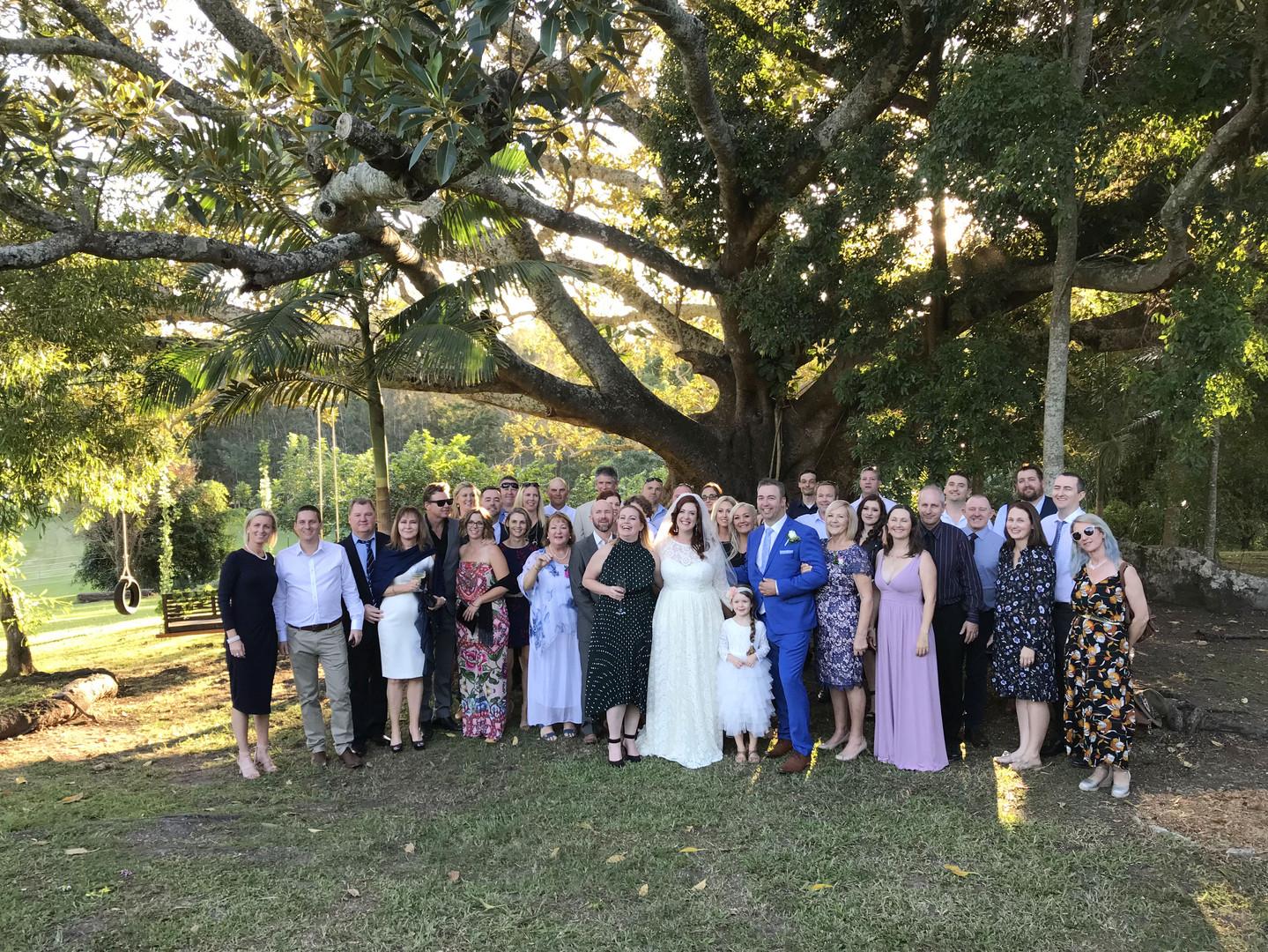Nyomi and Leith's Wedding