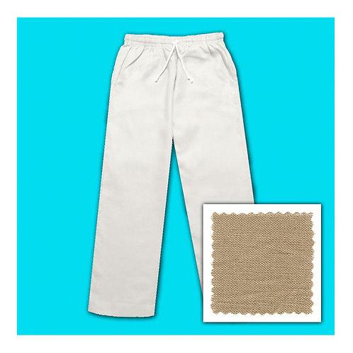 Linen Pants - Caramel
