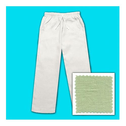 Women's Linen Pants - Lagoon