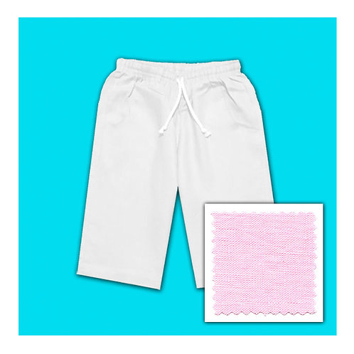 Womens Linen Shorts - Candy