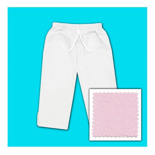 Cotton Capris - Pink