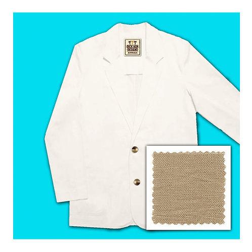 Linen Jacket - Caramel