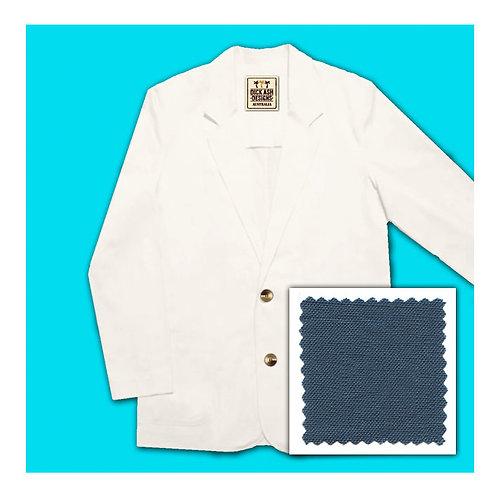Linen Jacket - Indigo