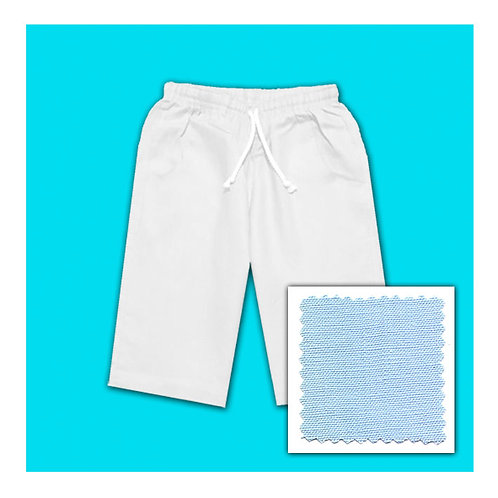 Linen Shorts - Blue Ice