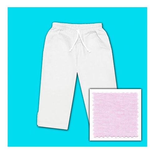 Womens Linen Capris - Candy