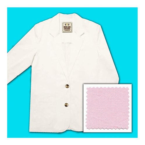 Womens Cotton Jacket - Pink