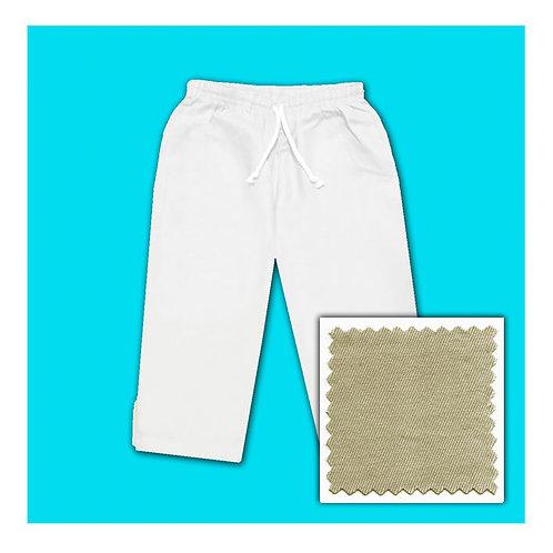 Cotton Capris - Khaki