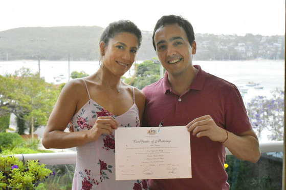 Carina and Sebastian's Wedding